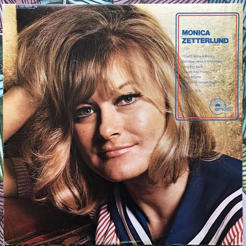 MONICA ZETTERLUND Monica Zetterlund (Emidisc - Sweden original) (VG+) LP