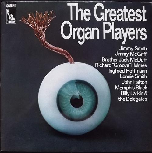 VARIOUS The Greatest Organ Players (Liberty - Germany original) (VG+/EX) 2LP
