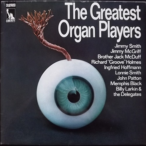 VARIOUS The Greatest Organ Players (Liberty - Germany original) (VG+/EX) 2LP