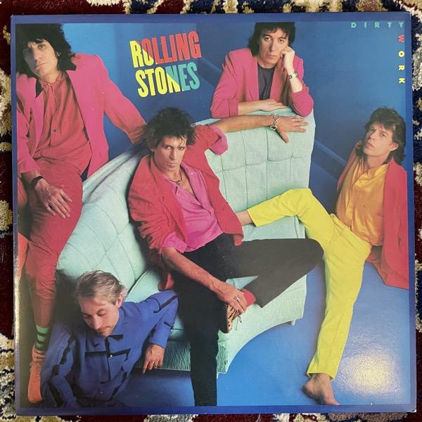 ROLLING STONES Dirty Work (Rolling Stones - Europe original) (EX) LP