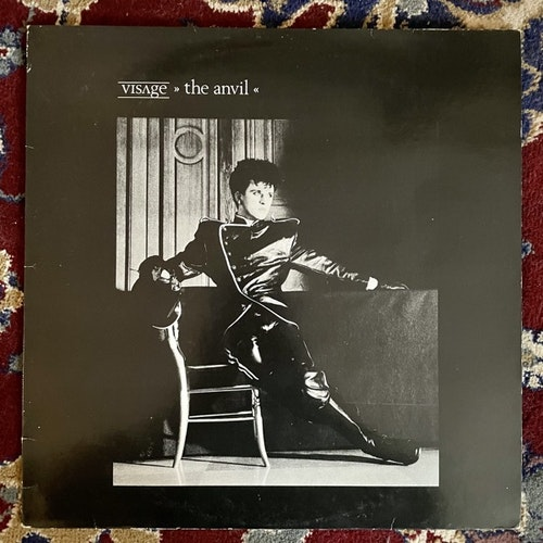 VISAGE The Anvil (Polydor - Scandinavia original) (VG) LP