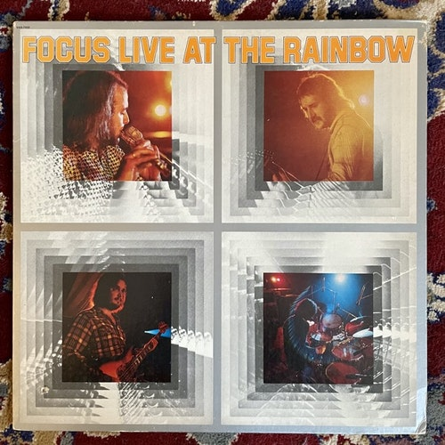 FOCUS Live At The Rainbow (Sire - USA original) (VG) LP