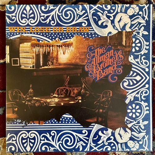 ALLMAN BROTHERS BAND, the Win, Lose Or Draw (Capricorn - UK original) (EX/VG) LP