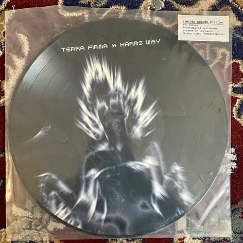 TERRA FIRMA Harms Way (Sway - Sweden original) (EX) PIC LP