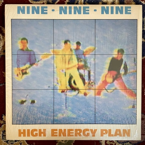 999 High Energy Plan (North American - Canada original) (EX/VG+) LP