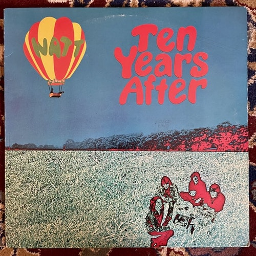 TEN YEARS AFTER Watt (Chrysalis - USA reissue) (VG+/VG) LP