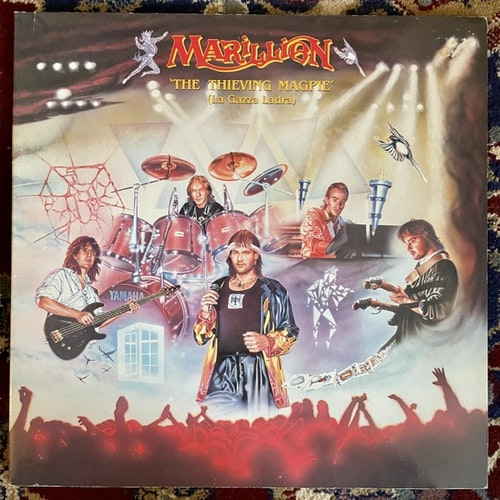 MARILLION The Thieving Magpie (La Gazza Ladra) (EMI - France original) (VG+) 2LP