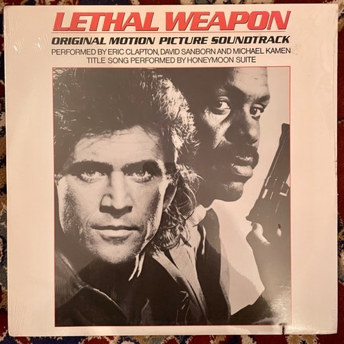 SOUNDTRACK Eric Clapton, David Sanborn, Michael Kamen, Honeymoon Suite ‎– Lethal Weapon (Warner Bros. - USA original) (SS) LP