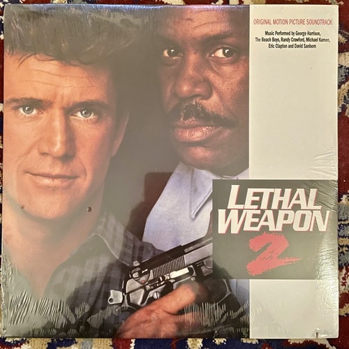 SOUNDTRACK Various ‎– Lethal Weapon 2 (Warner Bros. - USA original) (SS) LP