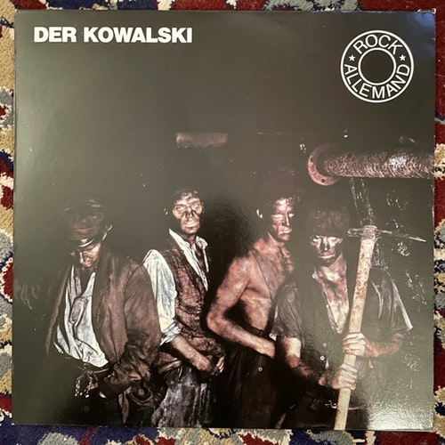 DER KOWALSKI Overman Underground (Virgin - France original) (VG+/EX) LP
