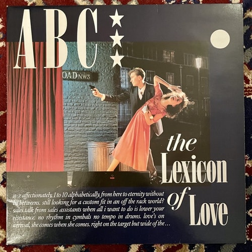 ABC The Lexicon Of Love (Vertigo - Scandinavia original) (EX) LP