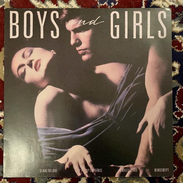 BRYAN FERRY Boys And Girls (EG - Germany original) (VG+) LP