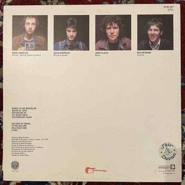 DIRE STRAITS Dire Straits (Vertigo - UK original) (VG+/VG) LP
