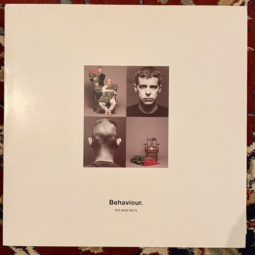 PET SHOP BOYS Behaviour (Parlophone - UK original) (EX/VG+) LP