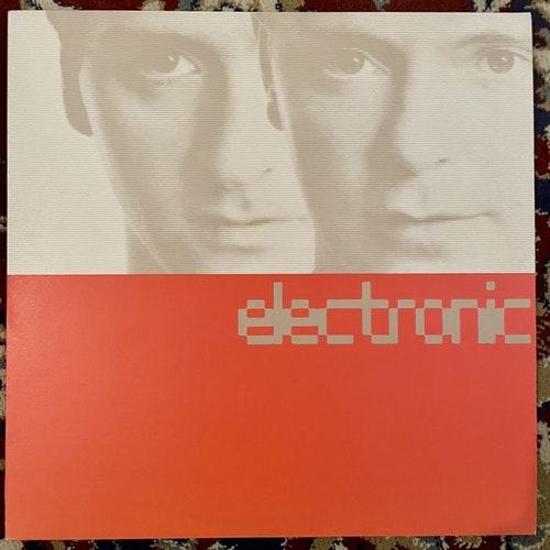 ELECTRONIC Electronic (Factory - UK original) (EX/VG+) LP