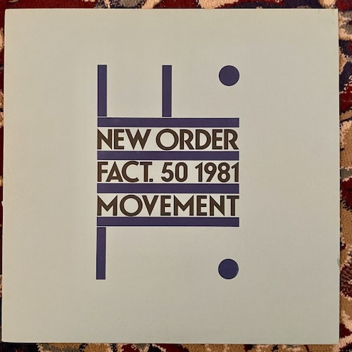 NEW ORDER Movement (Factory - UK original) (VG+) LP