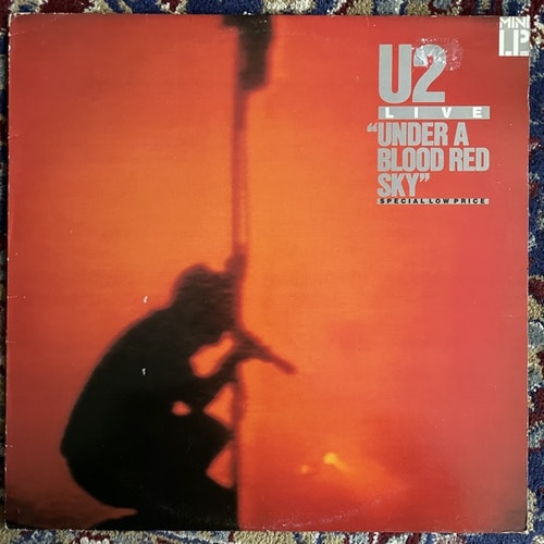 "U2 Live ""Under A Blood Red Sky"" (Island - Scandinavia original) (VG/VG+) LP"