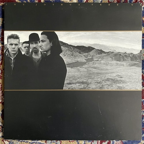 U2 The Joshua Tree (Island - Scandinavia original) (VG/VG+) LP