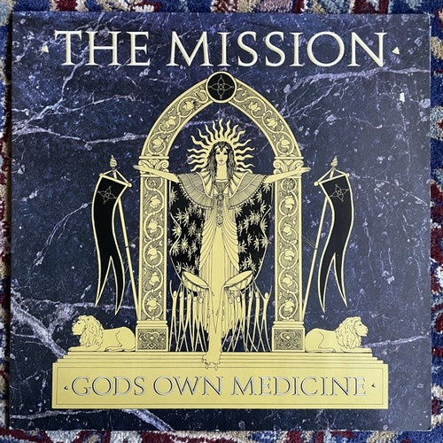 MISSION, the Gods Own Medicine (Mercury - Europe original) (VG+/VG) LP
