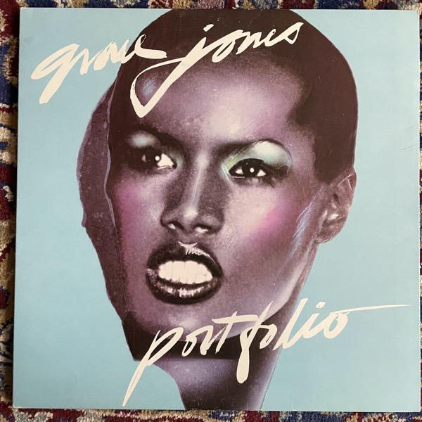 GRACE JONES Portfolio (Island - Scandinavia original) (VG+/VG) LP