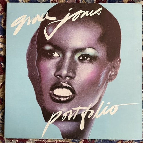 GRACE JONES Portfolio (Island - Scandinavia original) (VG+/VG) LP