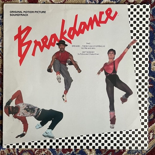 SOUNDTRACK Various ‎– Breakdance (Polydor - Holland original) (VG) LP