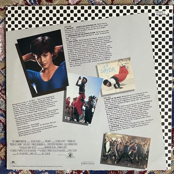 SOUNDTRACK Various – Breakdance (Polydor - Holland original) (VG) LP