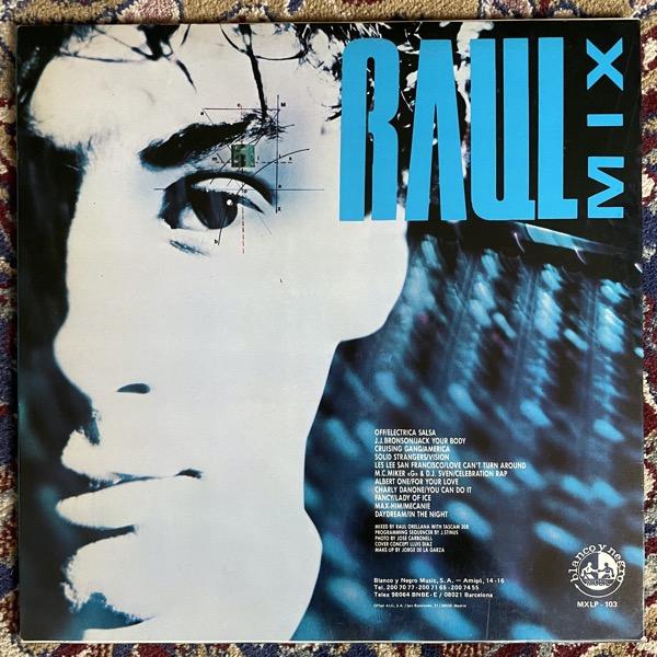 VARIOUS Raul Mix (Blanco Y Negro - Spain original) (VG+) LP
