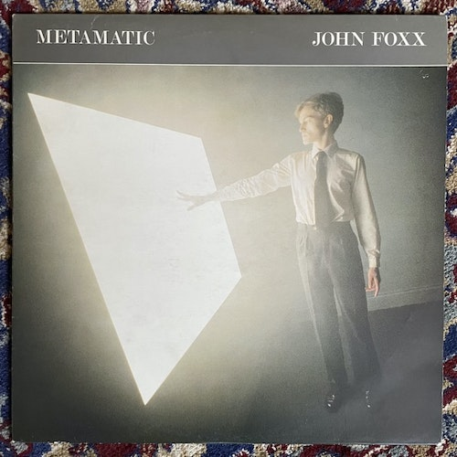 JOHN FOXX Metamatic (Virgin - UK original) (VG+/VG) LP