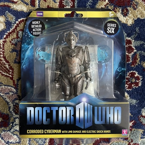 DOCTOR WHO Corroded Cyberman Figure