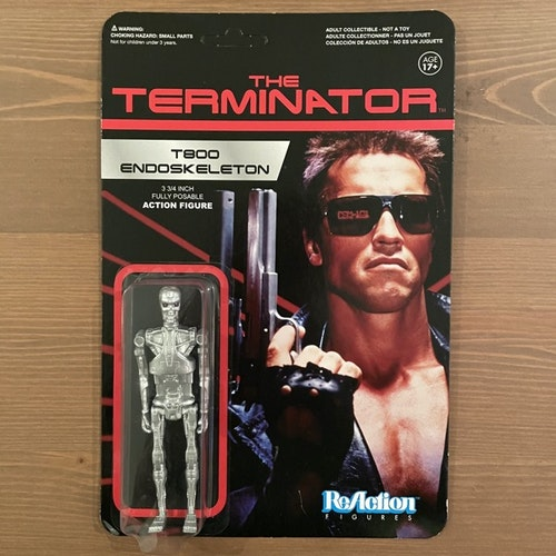 TERMINATOR, the T800 Endoskeleton ReAction Figure