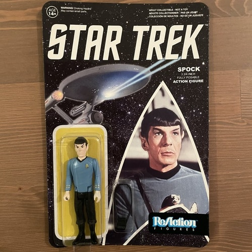 STAR TREK Spock ReAction Figure