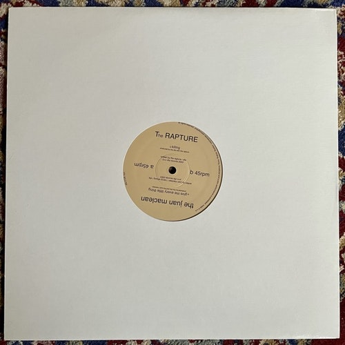 JUAN MACLEAN, the / THE RAPTURE Give Me Every Little Thing / Killing (DFA - USA original) (EX/NM) 12""