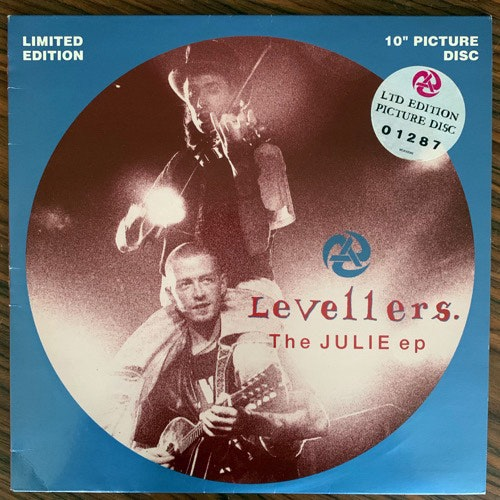 LEVELLERS, the The Julie EP (China - UK original) (VG+) PIC 10""