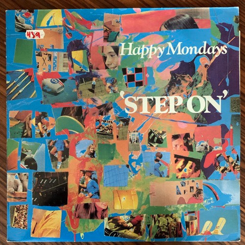 HAPPY MONDAYS Step On (Factory - UK original) (VG+) 12""