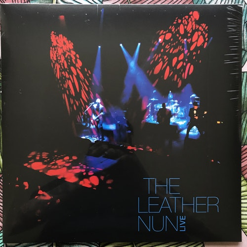 LEATHER NUN, the Live (Blue vinyl) (Wild Kingdom - Sweden original) (SS) LP