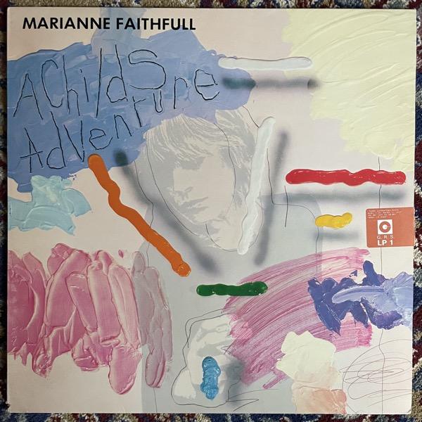 MARIANNE FAITHFULL A Childs Adventure (Island - Scandinavia original) (VG+) LP