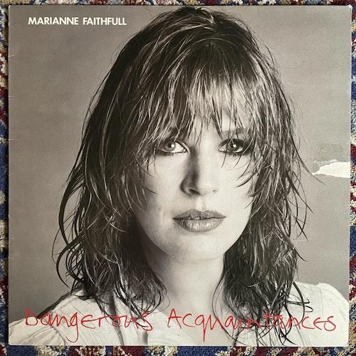 MARIANNE FAITHFULL Dangerous Acquaintances (Island - Sweden original) (VG/VG+) LP