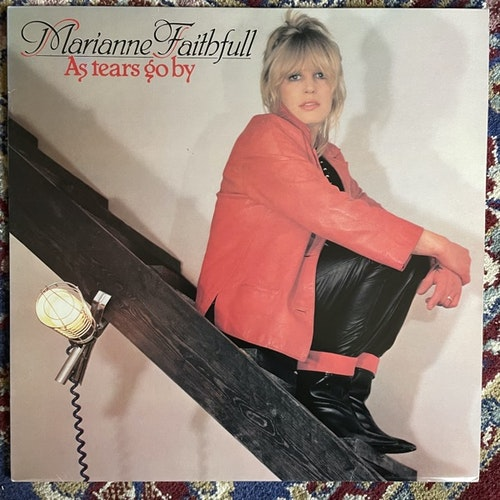 MARIANNE FAITHFULL As Tears Go By (Decca - Scandinavia original) (VG+/EX) LP