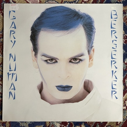 GARY NUMAN Berserker (Teldec - Germany original) (VG+) LP