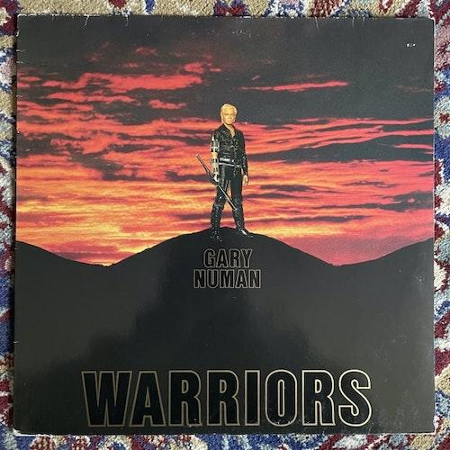GARY NUMAN Warriors (Beggars Banquet - Scandinavia original) (VG) LP