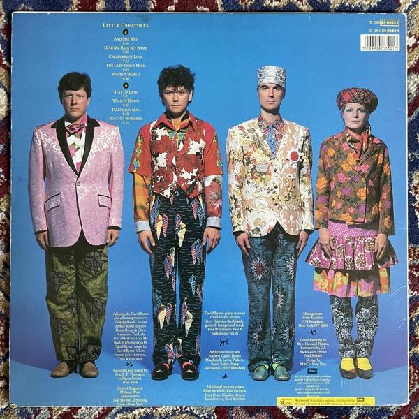 TALKING HEADS Little Creatures (EMI - Europe original) (VG+/VG) LP