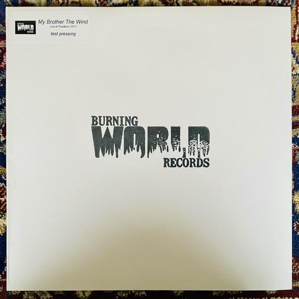 MY BROTHER THE WIND Live At Roadburn 2013 (Test Press) (Burning World - Holland original) (EX) 2LP