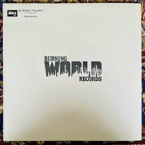MY BROTHER THE WIND Live At Roadburn 2013 (Test Press) (Burning World - Holland original) (EX) 2LP