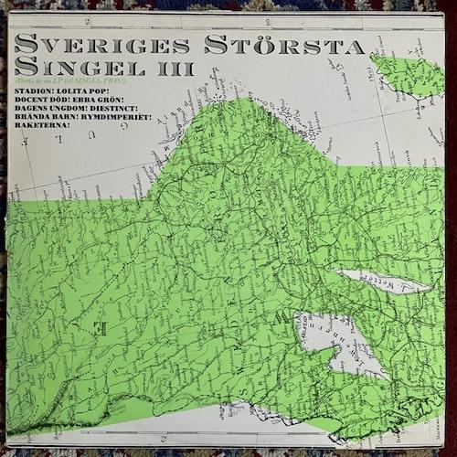 VARIOUS Sveriges Största Singel III (Mistlur - Sweden original) (VG-/VG+) LP
