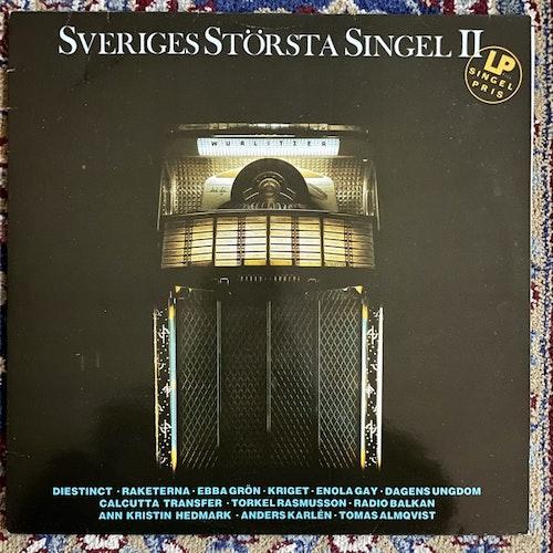 VARIOUS Sveriges Största Singel II (Mistlur - Sweden original) (VG+) LP