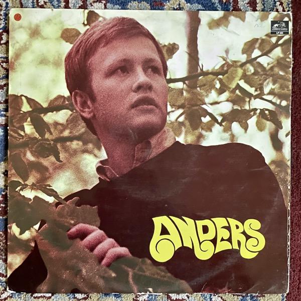 ANDERS Anders (Hemmets Härold - Sweden original) (VG-) LP