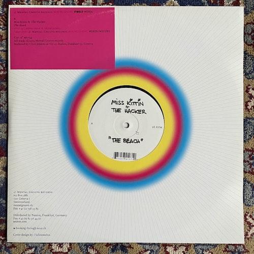 "MISS KITTIN & THE HACKER The Beach (Mental Groove - Switzerland original) (EX) 12"""