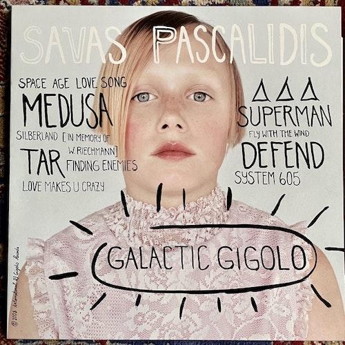 SAVAS PASCALIDIS Galactic Gigolo (International Deejay Gigolo - Germany original) (EX/VG+) 2LP