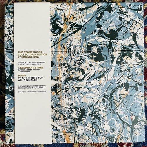 "STONE ROSES, the The Stone Roses Collector's Edition (Silvertone - UK original) (NM) 5x7"" BOX"